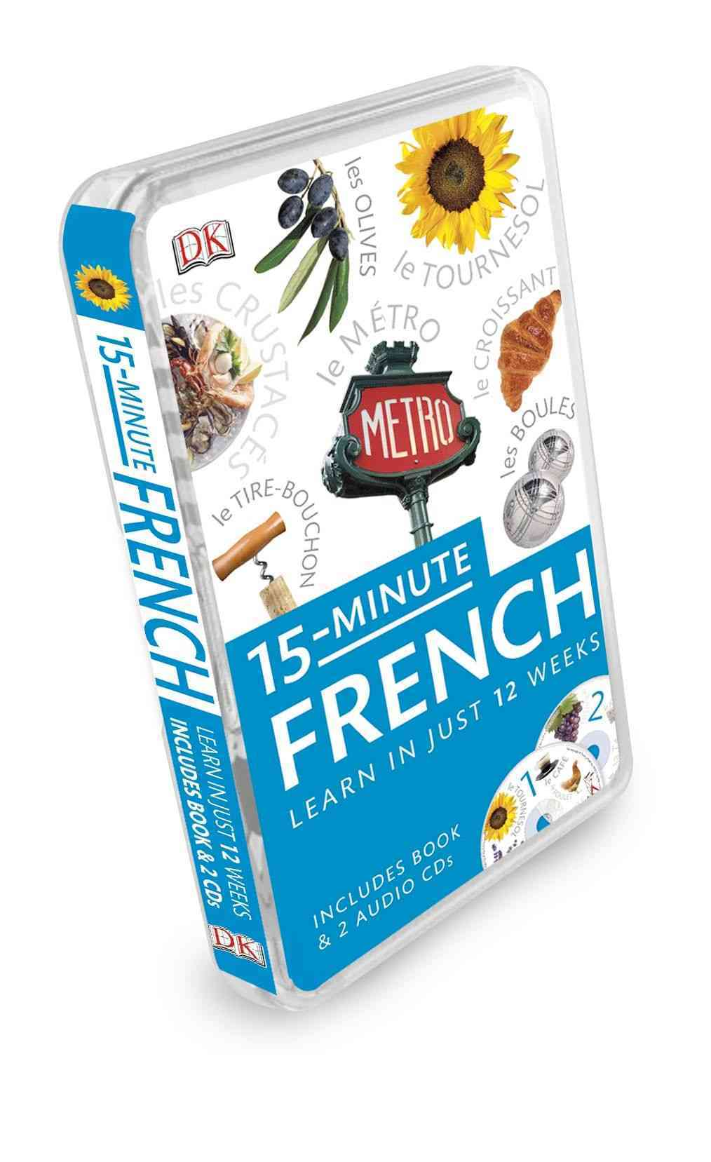 15-Minute French By Dorling Kindersley, Inc. (COR)